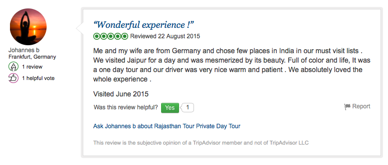 Travel review of RTC from Frankfurt