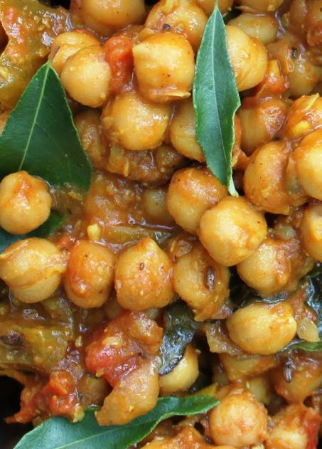 Famous Chole kulche from Rajasthan