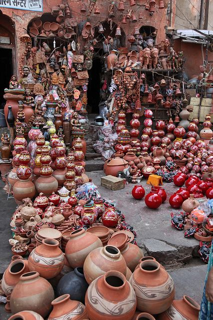 Mud Pottery from Rajasthan