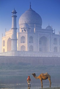 Taj Mahal from Back Side