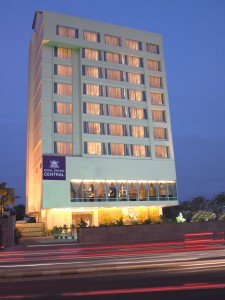 Front View of Hotel Royal Orchid Central Jaipur