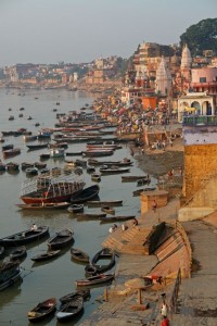 During this tour you will take a Boat ride in the morning on the holy river Ganges