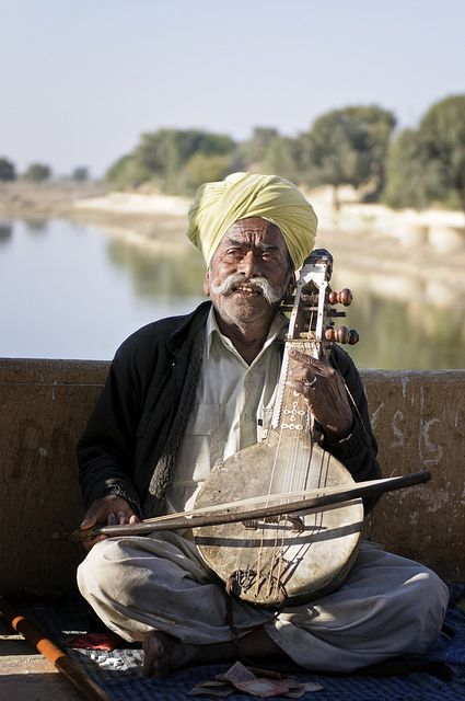 Local Musician from Rajasthan