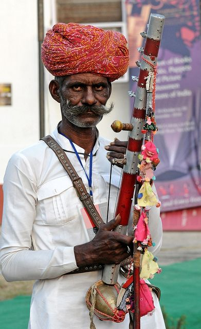 Musician from Rajasthan