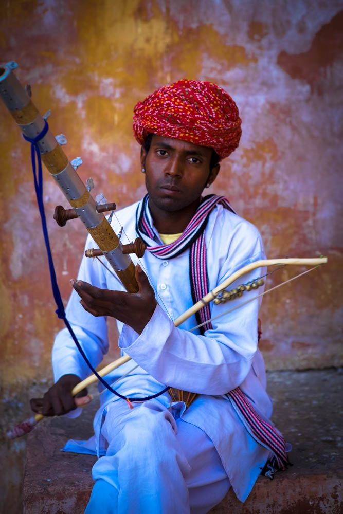 You will meet many Musician during your Tour to Rajasthan